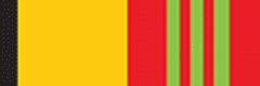 Орденская планка «За отличие в военной службе» III ст. с 2009 г.