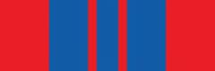 Орденская планка к медали «За отличие в охране общественного порядка»