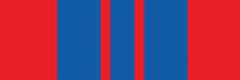 Орденская планка к медали «За отличную службу в охране общественного порядка»