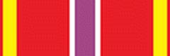 Орденская планка За отличие в службе I степени ФСИН