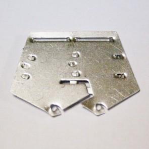 Пятиугольная колодка №2 на булавке алюминиевая