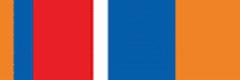 Орденская планка «75 лет Гражданской обороне» МЧС