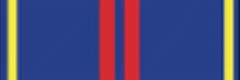 Орденская планка «За заслуги в управленческой деятельности» II степени МВД
